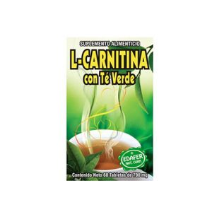 L-Carnitina-con-té-verde-60-tbs-700-mg-Edafer